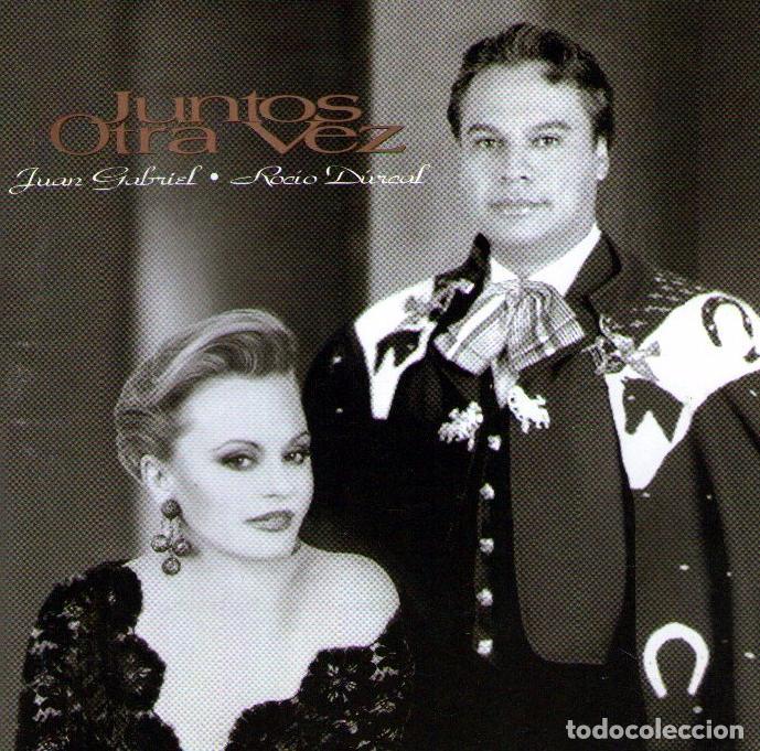 ROCIO DURCAL Y JUAN GABRIEL - JUNTOS OTRA VEZ - CD ALBUM - 19 TRACKS - BMG MÉXICO 1997 (Música - CD's Latina)