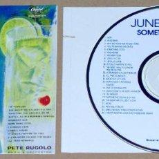CDs de Música: JUNE CHRISTY - 5 ÁLBUMS DISTINTOS EN 3 CDS REMASTERIZADOS, 1954-1959 - VOCAL JAZZ. Lote 66021194