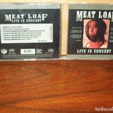 CDs de Música: MEAT LOAF - LIVE IN CONCERT - CD . Lote 66104398
