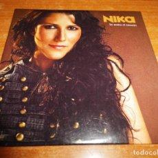 CDs de Música: NIKA SE ACABA EL CORAZON CD SINGLE PROMO 2003 OPERACION TRIUNFO 1 TEMA LUDOVICO VAGNONE. Lote 262544035