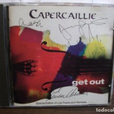 CD de Música: CAPERCAILLE.GET OUT CD ALBUM COMO NUEVO¡¡ PEPETO. Lote 66260090