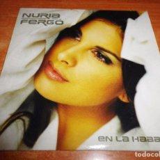 CDs de Música: NURIA FERGO EN LA HABANA CD SINGLE PROMO 2002 OPERACION TRIUNFO 1 TEMA PACO ORTEGA. Lote 129087878