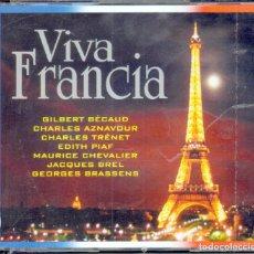 CDs de Música: MUSICA GOYO - CD ALBUM - VIVA FRANCIA - LO MEJOR DE FRANCIA - 3 CD - RARISIMO *BB99. Lote 66270826