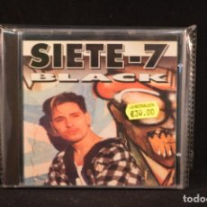 CDs de Música: SIETE - 7 BLACK - SIETE - 7 BLACK - CD. Lote 66318694