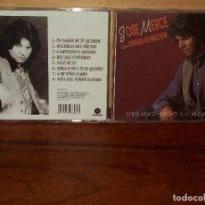 CDs de Música: JOSE MERCE - DESNUDANDO EL ALMA - CD CON ENRIQUE MELCHOR . Lote 66456998