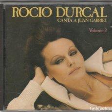 CDs de Música: ROCIO DURCAL - CANTA A JUAN GABRIEL VOL. 2 (CD ARIOLA 1990). Lote 66539286