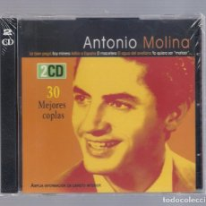CDs de Música: ANTONIO MOLINA - 30 MEJORES COPLAS ( 2CD 1997, HELIX CDNS 103-104). Lote 66767530