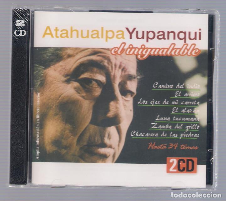 ATAHUALPA YUPANQUI - EL INIGUALABLE (2CD 2004, HELIX CDNS 904-905) (Música - CD's Latina)