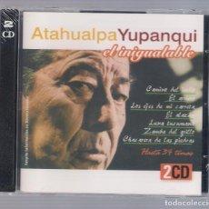 CDs de Música: ATAHUALPA YUPANQUI - EL INIGUALABLE (2CD 2004, HELIX CDNS 904-905). Lote 66773262