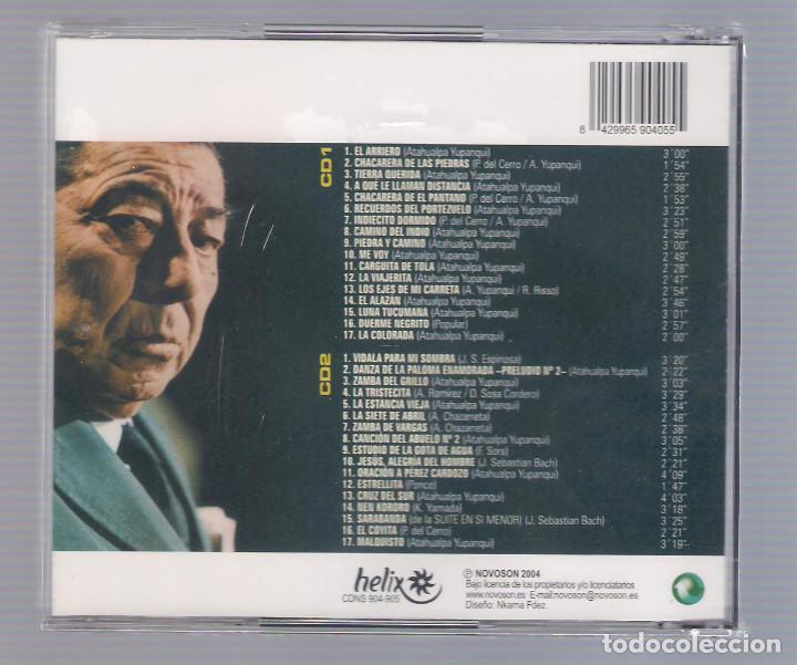CDs de Música: ATAHUALPA YUPANQUI - El inigualable (2CD 2004, Helix CDNS 904-905) - Foto 2 - 66773262