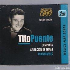 CDs de Música: TITO PUENTE - MÚSICA PARA SOÑAR (COMPLETA SELECCIÓN DE TEMAS INOLVIDABLES)(2CD 2006, CDD 1801). Lote 66773878