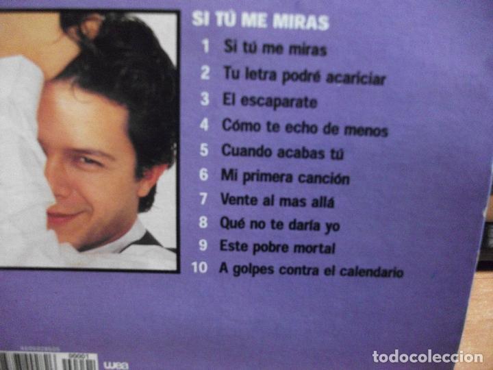 CDs de Música: ALEJANDRO SANZ CD ALBUM LO MEJOR + Si tu me miras COMO NUEVO¡¡ PEPETO - Foto 2 - 66789870