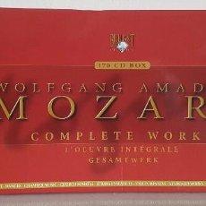 CDs de Música: MOZART - OBRA COMPLETA - 170 CDS. BOX - EDICION 250 ANIVERSARIO DEL NACIMIENTO -. Lote 66864482