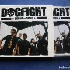 CDs de Música: CD - DOGFIGHT - SAYING AND DOING HEAVY COMO NUEVO ¡¡ PEPETO. Lote 67060066