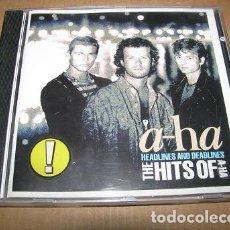 CDs de Música: A-HA (THE HITS OF A-HA) ¡¡OFERTA 3X2!! (LEER DESCRIPCION). Lote 67109085