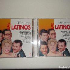 CDs de Música: LOS 5 LATINOS 2 CDS. Lote 67115137