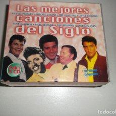 CDs de Música: LAS MEJORES CANCIONES DEL SIGLO XX - 5, CDS, ELVIS PRESLEY,CHUCK BERRI ETC - 5 CDS. Lote 67115637