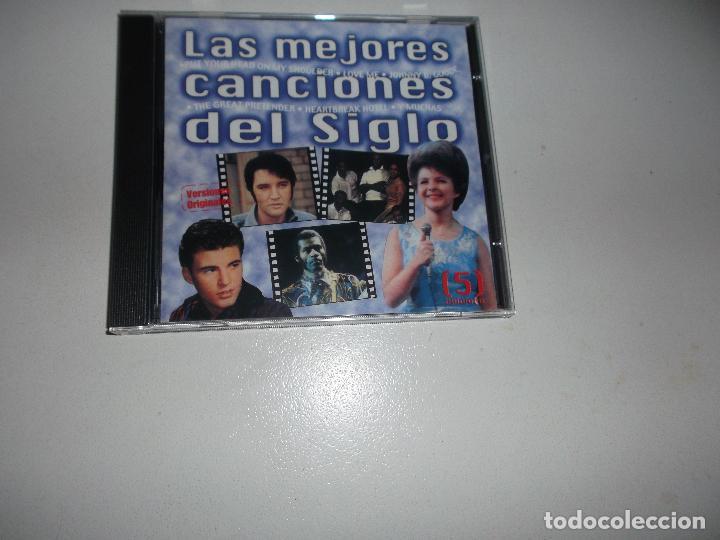 CDs de Música: LAS MEJORES CANCIONES DEL SIGLO XX - 5, CDS, ELVIS PRESLEY,CHUCK BERRI ETC - 5 CDS - Foto 4 - 67115637
