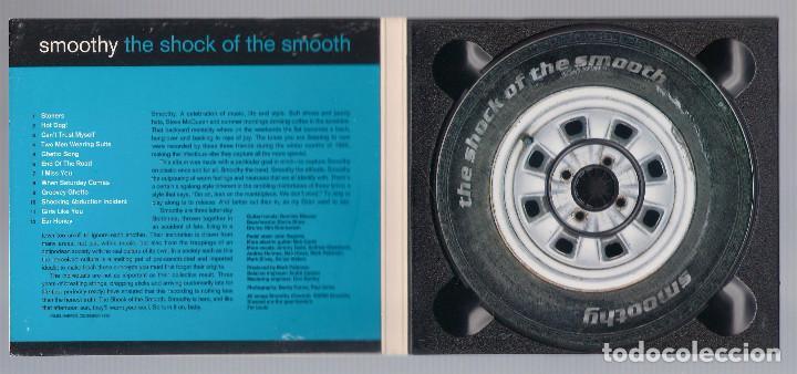 CDs de Música: SMOOTHY - The Shock Of The Smooth (CD digipak PopGun Smooth 1) - Foto 2 - 67116125