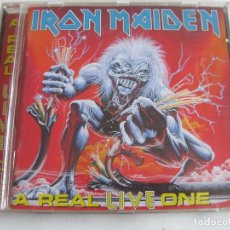 CDs de Música: CD IRON MAIDEN - A REAL LIVE ONE. Lote 67133445