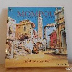 CDs de Música: FEDERICO MOMPOU. Lote 67173581