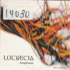 CDs de Música: LUCRECIA / AMPARAME (3 VERSIONES) CD SINGLE CARTON 2000. Lote 67368857