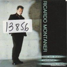 CDs de Música: RICARDO MONTANER / REY SIN TRONO / BESAME / MOLIENDO CAFE (CD SINGLE CARTON PROMO 2001). Lote 67369057