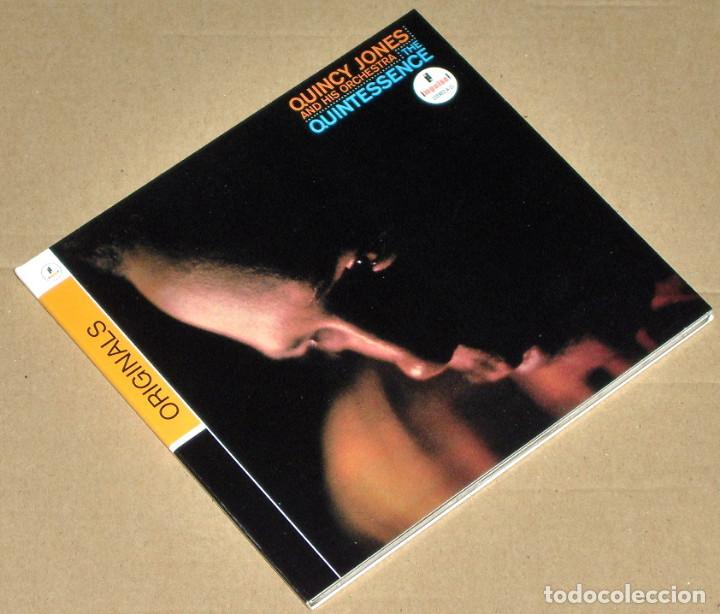QUINCY JONES AND HIS ORCHESTRA: THE QUINTESSENCE (REMASTERED) (DIGIPAK) - JAZZ (Música - CD's Jazz, Blues, Soul y Gospel)