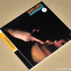 CDs de Música: QUINCY JONES AND HIS ORCHESTRA: THE QUINTESSENCE (REMASTERED) (DIGIPAK) - JAZZ. Lote 67423989