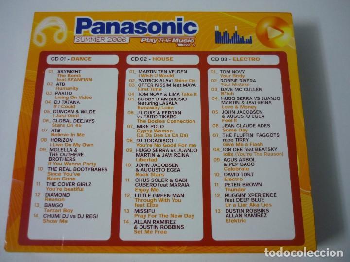 CDs de Música: PANASONIC - SUMMER 2006 - TRIPLE CD DANCE HOUSE Y ELECTRO. - Foto 2 - 67439209