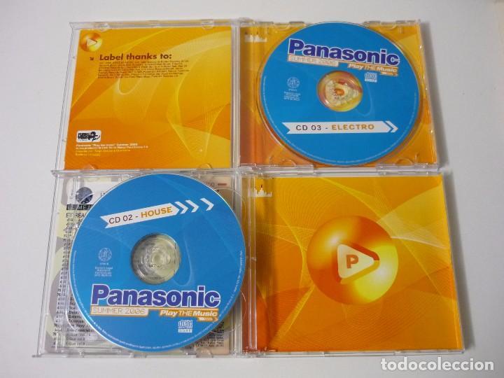 CDs de Música: PANASONIC - SUMMER 2006 - TRIPLE CD DANCE HOUSE Y ELECTRO. - Foto 4 - 67439209
