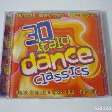 CDs de Música: 30 ITALO DANCE CLASSICS. DOBLE DISCO. PERFECTO.. Lote 67442913