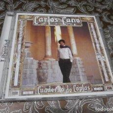 CDs de Música: CD. CARLOS CANO - CUADERNO DE COPLAS SIN USO. Lote 67477353