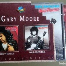 CD di Musica: GARY MOORE: AFTER THE WAR + WILD FRONTIER, 2XCD LTD BOX SET VIRGIN 8420852. SPAIN, 1995.. Lote 67487341