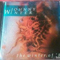 CDs de Música: JOHNNY WINTER THE WINTER OF'88 CD N°15 ALTAYA. Lote 67491229
