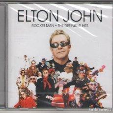 CDs de Música: CD ELTON JOHN - ROCKET MAN - THE DEFINITIVE HITS NUEVO PRECINTADO 2007. Lote 67575349