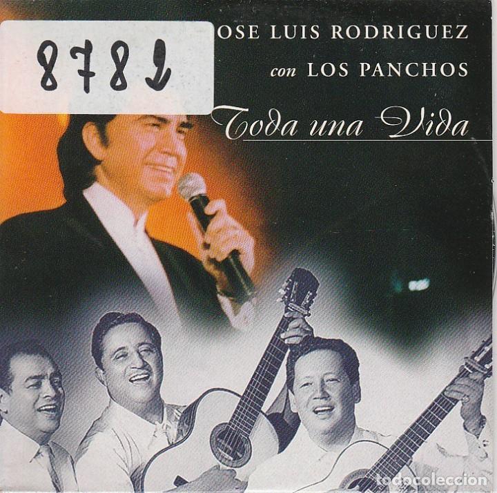 JOSE LUIS RODRIGUEZ CON LOS PANCHOS / TODA UNA VIDA (CD SINGLE CARTON PROMO1998) (Música - CD's Latina)
