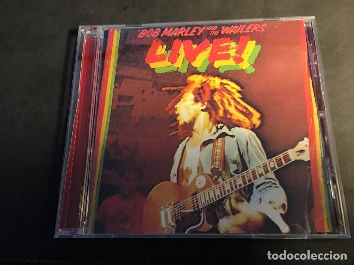 BOB MARLEY ( LIVE) CD 7 TRACKS (CDI4) (Música - CD's Reggae)