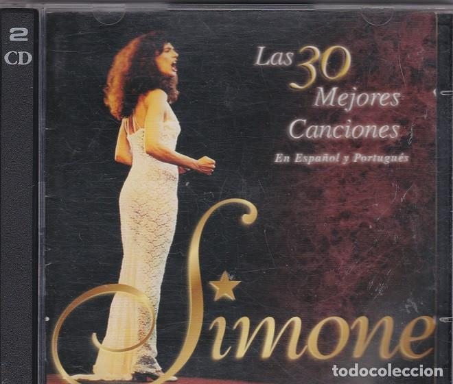 SIMONE - LAS 30 MEJORES CANCIONES EN ESPAÑOL Y PORTUGUÉS - 2XCD (Música - CD's Latina)