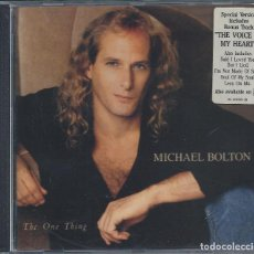 CDs de Música: MICHAEL BOLTON - THE ONE THING. Lote 67682829