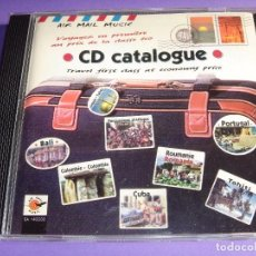 CDs de Música: AIR MAIL MUSIC / CD CATALOGUE / MÚSICAS DEL MUNDO / CD. Lote 67686385