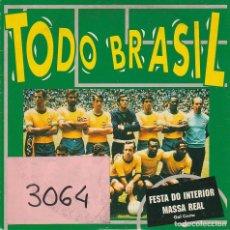 CDs de Música - TODO BRASIL / FESTA DO INTERIOR / MASSA REAL (CD SINGLE CARTON PROMO 1994) - 67742221