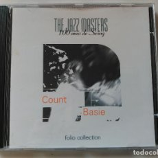 CDs de Música: CD COUNT BASIE - THE JAZZ MASTERS - FOLIO 1997 VG+. Lote 67836701