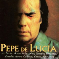 CDs de Música: PEPE DE LUCÍA - EL CORAZÓN DE MI GENTE - CD ALBUM 10 TRACKS - PEP'S RECORDS 2002 + REGALO CD SINGLE. Lote 67874501