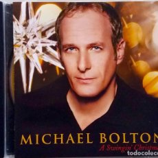 CDs de Música: MICHAEL BOLTON. A SWINGIN' CHRISTMAS. CD. Lote 67920901