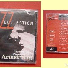 CDs de Música: CD: LOUIS ARMSTRONG (SATCHMO AT SYMPHONY HALL) (FOLIO, 2001) ¡COLECCIONISTA! NUEVO. Lote 67943377