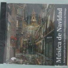 CDs de Música: CD: MUSICA DE NAVIDAD - ORQUESTA FILARMONICA DE MALAGA - 19 TRACKS – PRECINTADO - VEANSE TITULOS . Lote 67945373