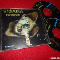 CDs de Música: TRIANA UNA HISTORIA DOBLE CD ROCK ANDALUZ (ALAMEDA, SMASH. Lote 68004981
