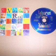 CDs de Música: TAHURES ZURDOS (CD/SN) VIDA REAL AÑO 1997 - PROMOCIONAL. Lote 68006649