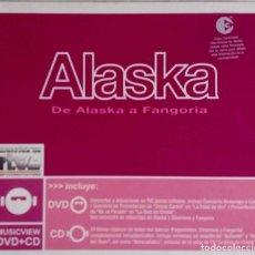 CDs de Música: ALASKA. DE ALASKA A FANGORIA. CD + DVD CON LIBRETO. Lote 68095309